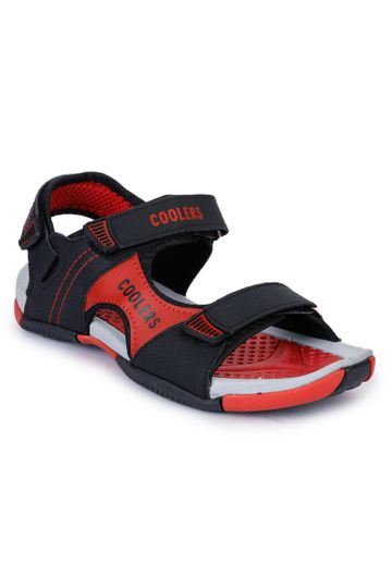 Liberty | Liberty Coolers Red Sports Sandals LXI-11_Red For - Men