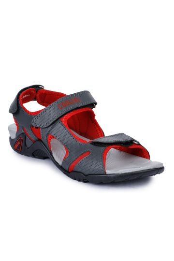 Liberty | Liberty Coolers Red Sports Sandals MARCO-1_Red For - Men