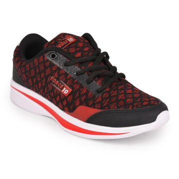 Liberty   Liberty Force 10 Red Sports Running Shoes NIARA-1_Red For - Women