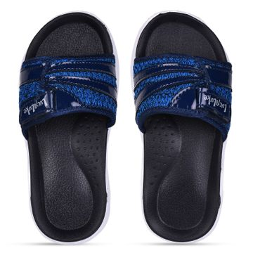 Liberty | Liberty Lucy & Luke Blue Casual Slippers RICKY-2S_Blue For - Boys