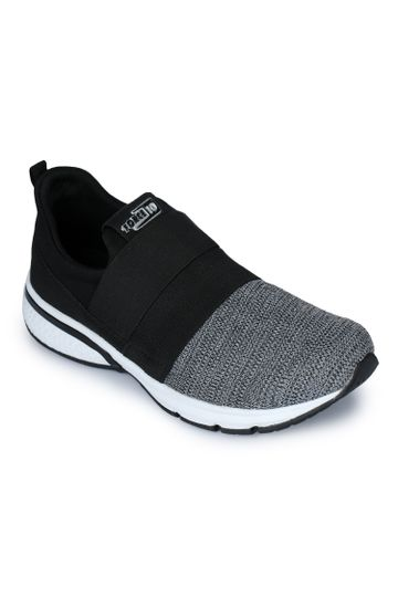 Liberty | Liberty Force 10 Black Sports Wailking Shoes RUNN-1_Black For - Men