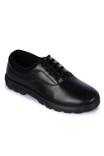 Liberty   Liberty Prefect Black School Shoes S BOY A_Black For - Men