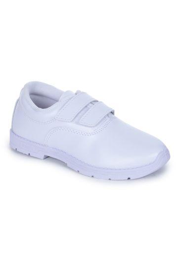 Liberty | Liberty Prefect White School Shoes S BOY-V_White For - Boys