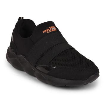 Liberty | Liberty Force 10 Black Sports Wailking Shoes SANDRA-2N_Black For - Women