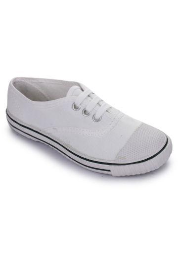 Liberty   Liberty Prefect White School Shoes SKOOLTENIS_White For - Boys