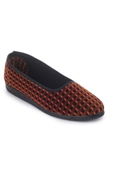 Liberty   Liberty Gliders Brown Ballerinas SPL.BELLY For - Ladies