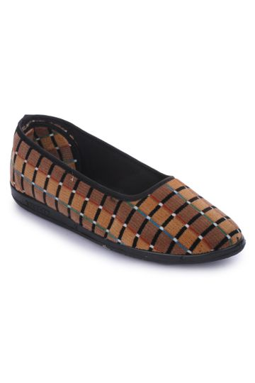 Liberty | Liberty Gliders Brown Ballerinas SPL.BELLY_Brown For - Women