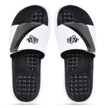 Liberty | Liberty A-HA White Casual Slippers STAMINA-25_White For - Men