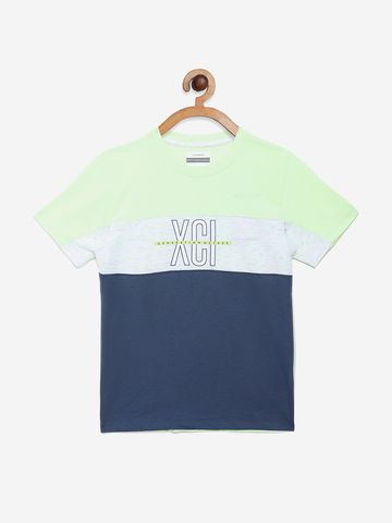 OCTAVE | Boys NEON GREEN T-Shirts