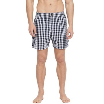 La Intimo | The Bold Fab Boxers (Black & White checks)