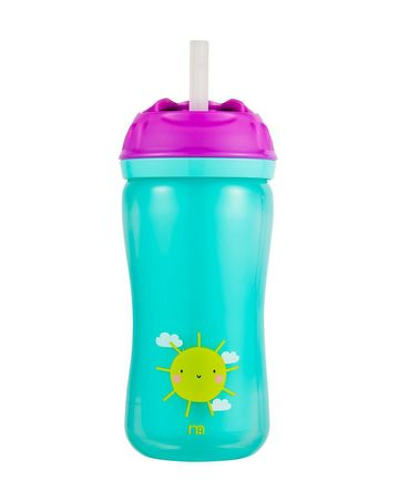 Mothercare | Insulated Flexi Straw Cup - Blue