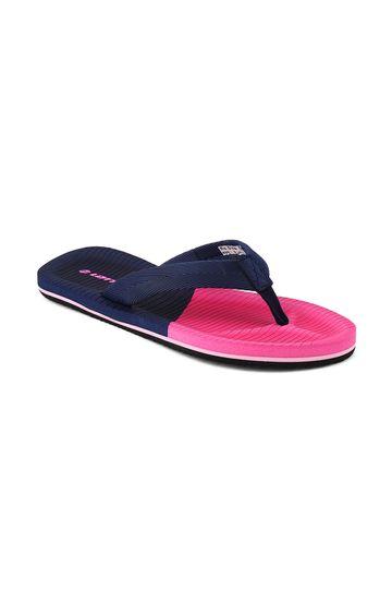 Lotto   Lotto Women's Blue & Pink Livio Slippers