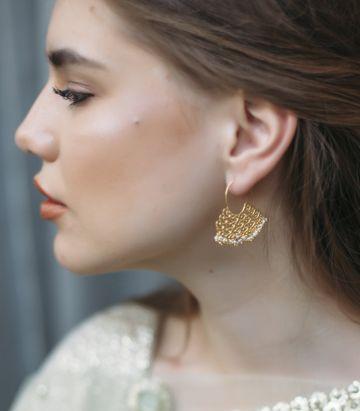 ZARIIN | Ripple of Love Earrings