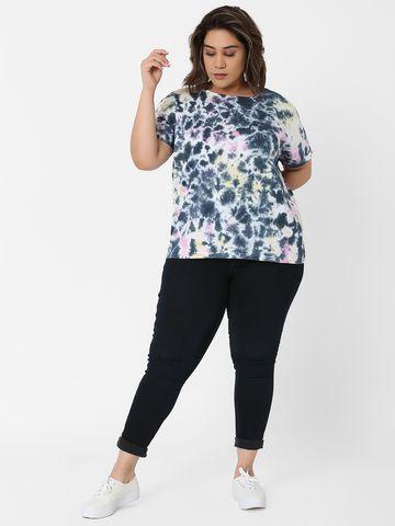 Marca Bold | Multi Tie-Dye Boxy T-shirt