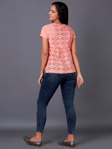 MARCA DISATI | Schiffli Back T-Shirt