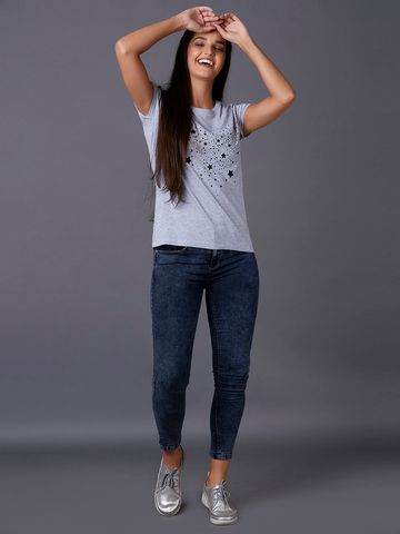 MARCA DISATI | Star Printed T-Shirt