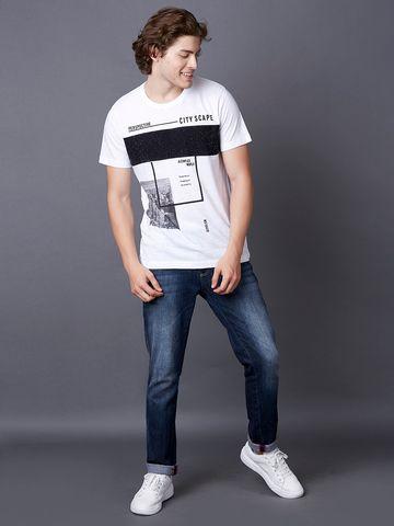 MARCA DISATI   Panel Graphic T-Shirt