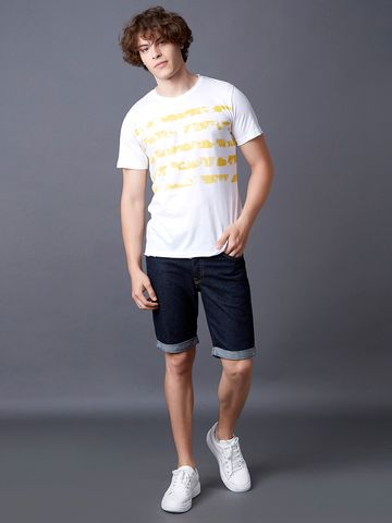 MARCA DISATI | White Printed T-Shirt