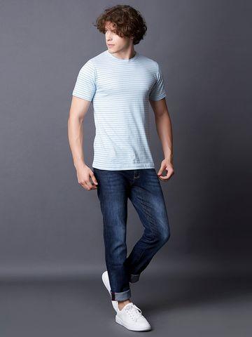 MARCA DISATI | Stripe Printed T-Shirt