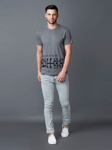 MARCA DISATI | Placement Print T-Shirt