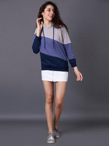 MARCA DISATI   Panelled Cut-Sew Sweatshirt