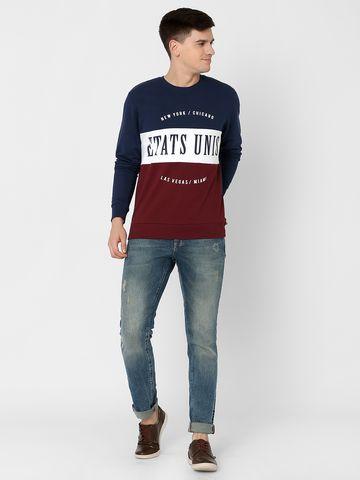 MARCA DISATI | Panelled Varsity Sweatshirt