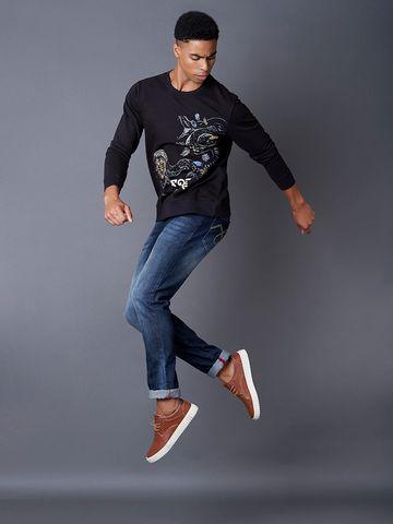MARCA DISATI | Black Printed Sweatshirt