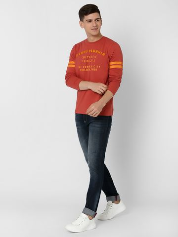 MARCA DISATI   Varsity Print T-Shirt