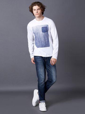 MARCA DISATI | Textured Applique T-Shirt