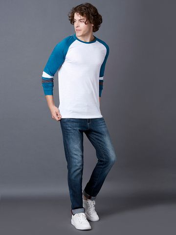 MARCA DISATI | Legion Blue Colourblock T-Shirt