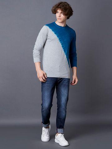MARCA DISATI | Diagonal Tie-Dye T-shirt