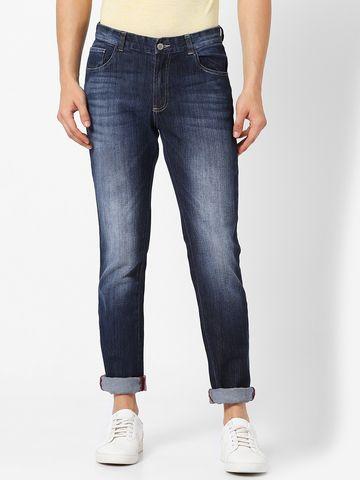 MARCA DISATI | Dark Wash Midrise Skinny Jeans