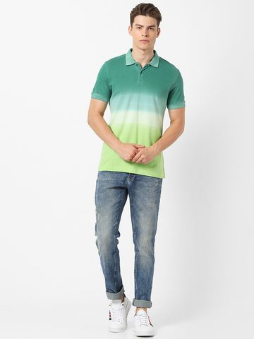 MARCA DISATI | Ombre Dyed Regular Fit Polo