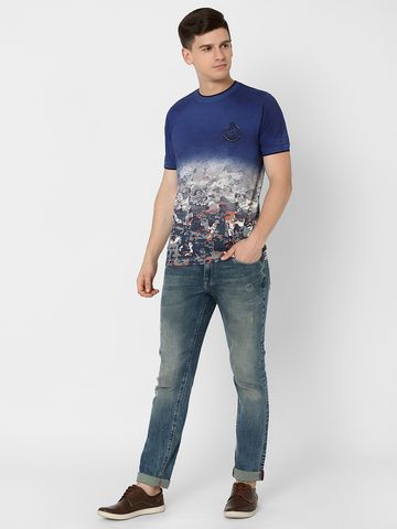 MARCA DISATI | Ombred Camou Printed T-Shirt