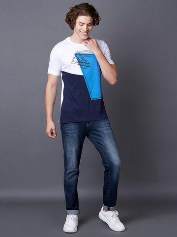 MARCA DISATI   White Printed T-Shirt