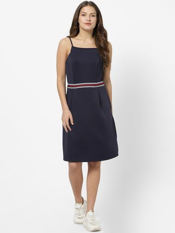 MARCA DISATI   A-Line Sleeveless Strappy Dress
