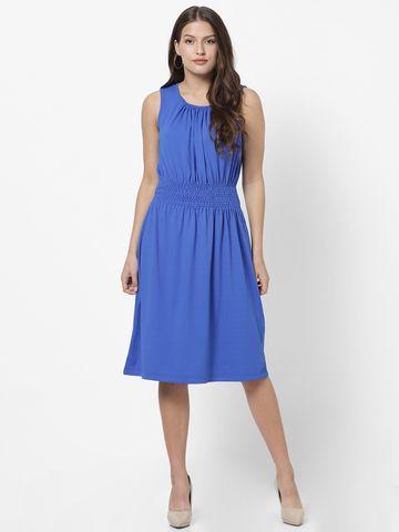 MARCA DISATI   Ruched Calf Length Dress