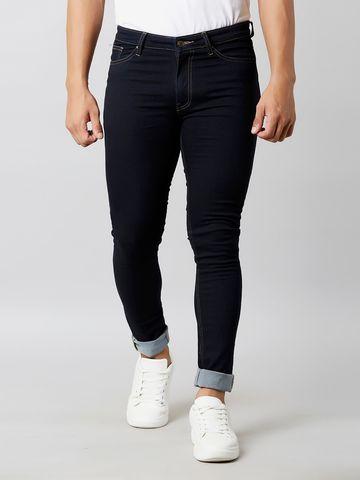 MARCA DISATI   Knitted Dark Wash Jeans