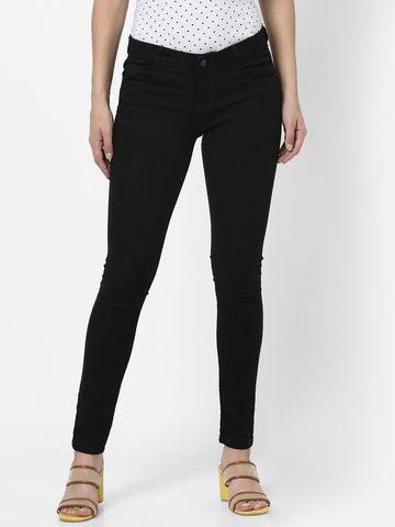 MARCA DISATI | Ankle Length Dark Wash Jeans