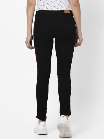 MARCA DISATI | Taped Side Ankle Length Jeans