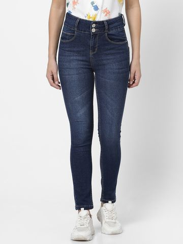 MARCA DISATI | Mid Rise Ankle Length Jeans