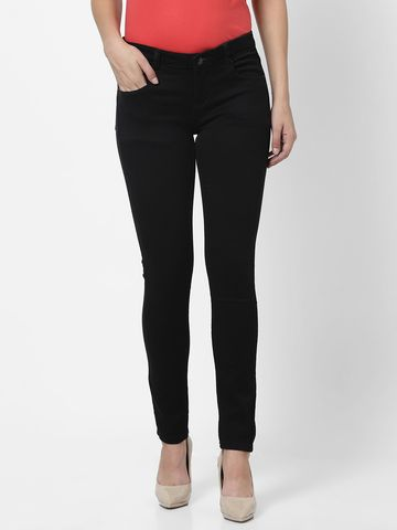 MARCA DISATI | Knitted Skinny Fit Ankle Jeans