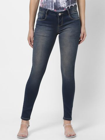 MARCA DISATI | Vintage Wash Ankle Length Jeans