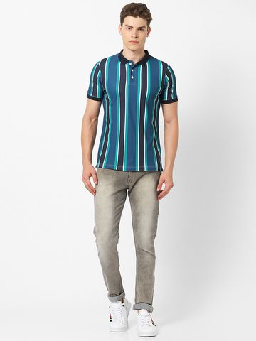 MARCA DISATI | Vertical Striped Regular Polo