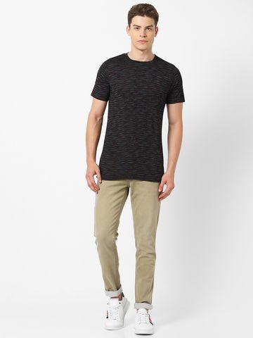 MARCA DISATI | Jaquard Crew Neck T-shirt