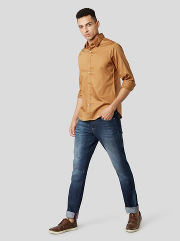 MARCA DISATI | Giza Cotton Slim Fit Shirt