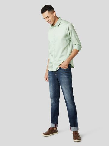 MARCA DISATI   Giza Cotton Slim Fit Shirt