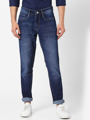 MARCA DISATI | Mid Rise Whiskered Jeans