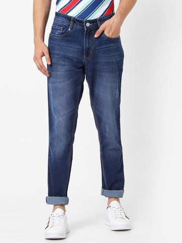 MARCA DISATI | Torn Look Whiskered Jeans