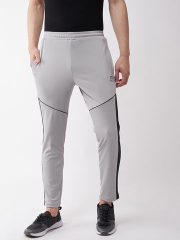 Masch Sports | Masch Sports Men's Regular Fit Grey Soft Polyester Lycra Track Pants